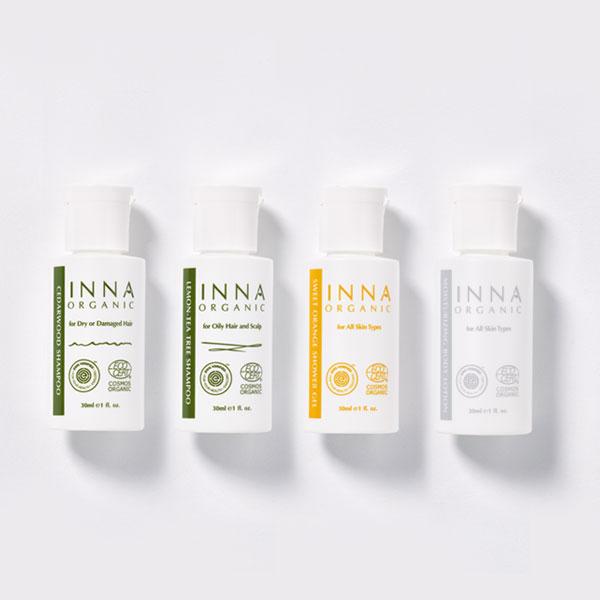 【Inna Organic 童顏有機】安淨洗沐體驗/旅行組