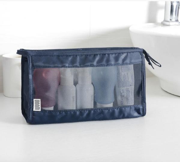 無印風旅行洗漱用品收納袋|簡便多功能摺疊收納包 旅行收納,收納袋