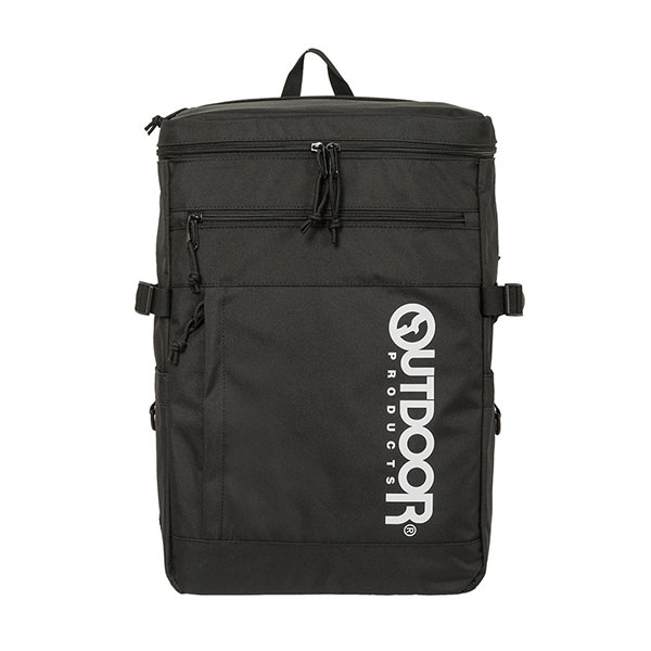 【OUTDOOR】15.6吋筆電後背包-風格前線風旅行背包(黑/藍/灰)