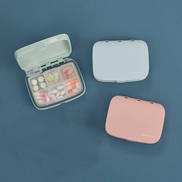 【Storagevi】環保防潮藥盒6格款|保健盒(保健食品/藥品/小物收納盒)
