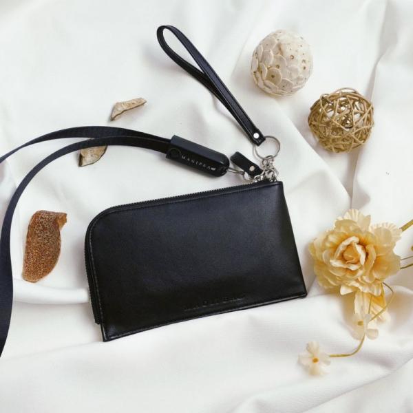 【美極品MAGIPEA】手機充電收納袋 美極品,MAGIPEA,手機袋,三合一充電,收納袋,時尚,粉色