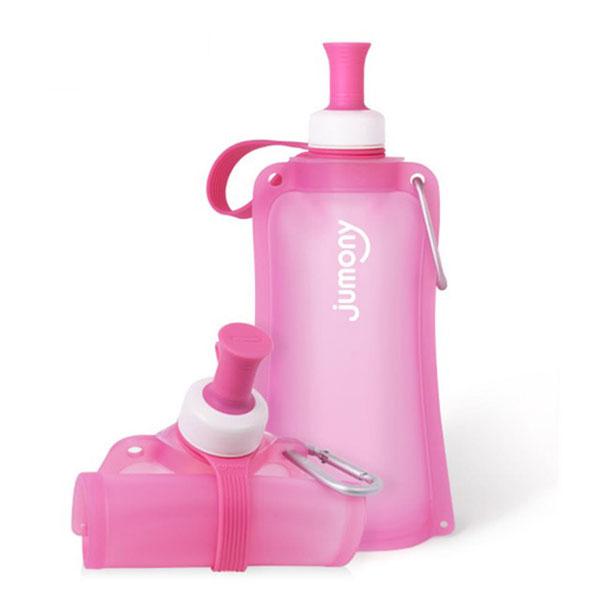 【韓國sillymann】100%簡約便攜捲式鉑金矽膠水瓶-550ml 矽膠水瓶