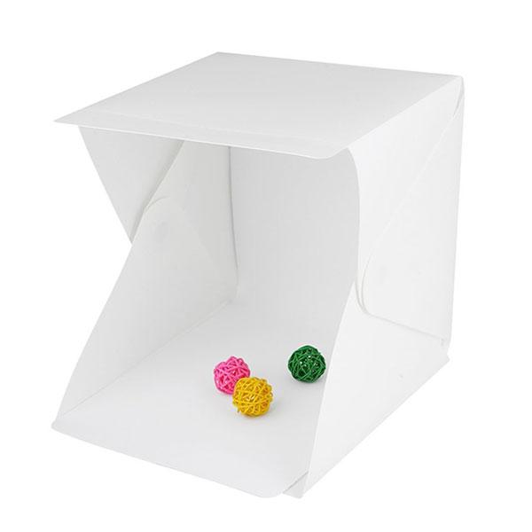 【LightBox】摺疊隨身攝影棚| LED燈條迷你攝影棚
