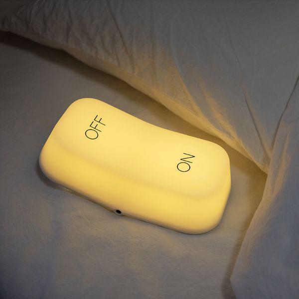 【ON-OFF LAMP】開關感應小夜燈