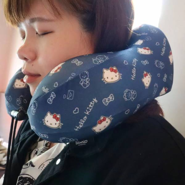 【murmur】旅行紓壓頸枕(Hello Kitty)U型枕