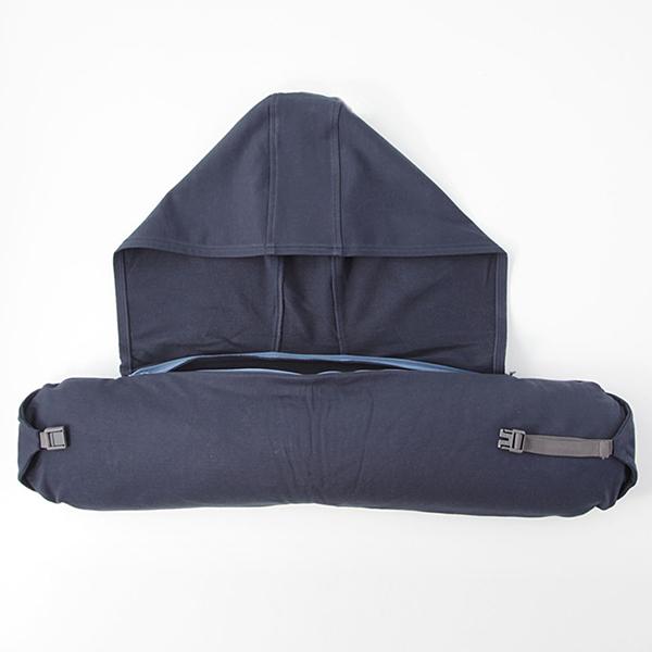 【日本無印風】連帽頸枕|遮光效果首選U型枕 U型枕,連帽頸枕,無印枕,旅行枕
