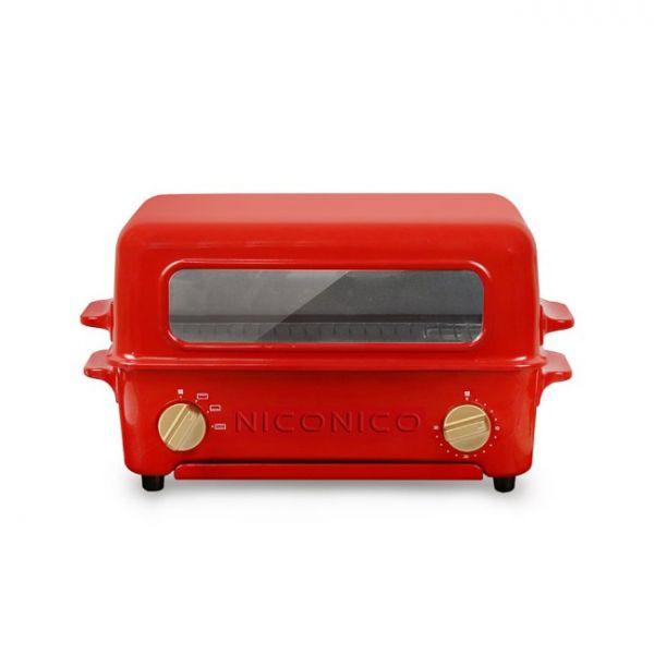 【NICONICO】掀蓋燒烤式蒸氣烤箱(NI-S805)
