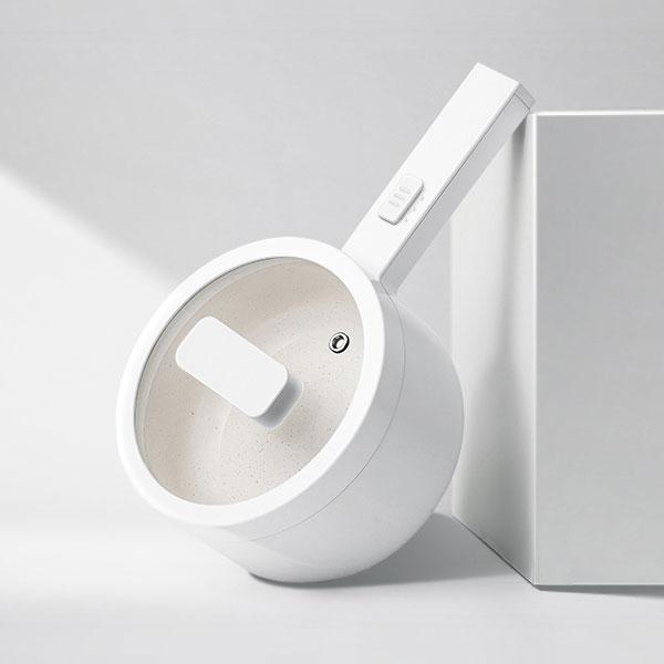 【OLAYKS】小白鍋|日式電熱鍋附蒸籠