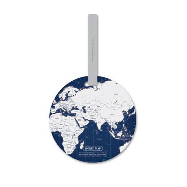 【正版韓貨】旅行行李世界地圖吊牌|韓國文具設計 吊牌,世界地圖造型吊牌,行李箱吊牌,旅行用品