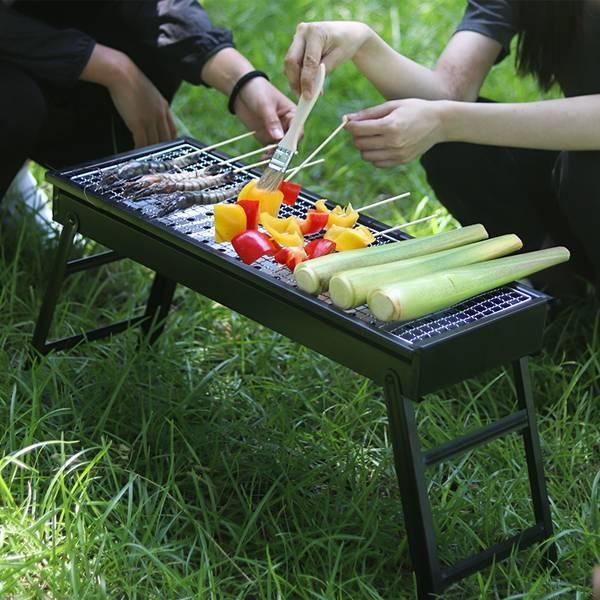 【BABALE®】摺疊BBQ烤肉架|燒烤架 烤肉爐