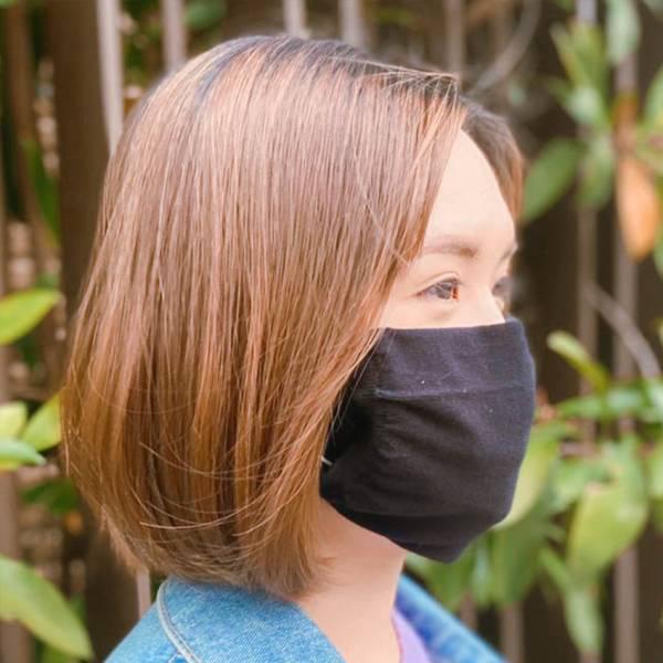 【台灣製精梳純棉】保護口罩套 (3入)