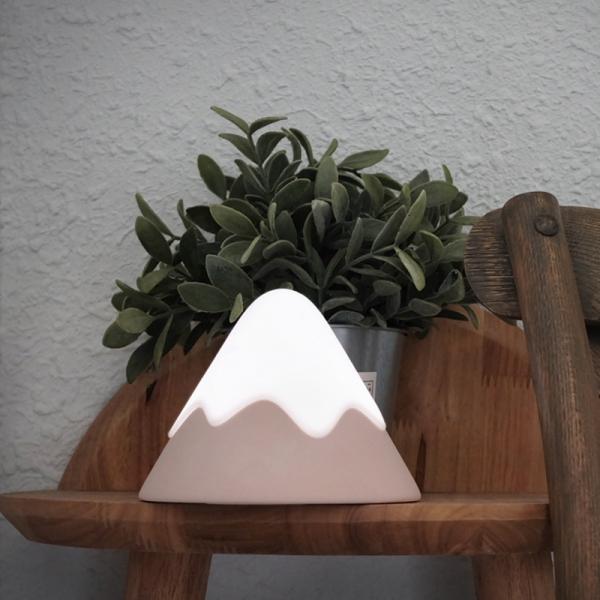 【無印風】療癒富士山雪山造型小夜燈|兩件免運 創意商品,富士山,小夜燈