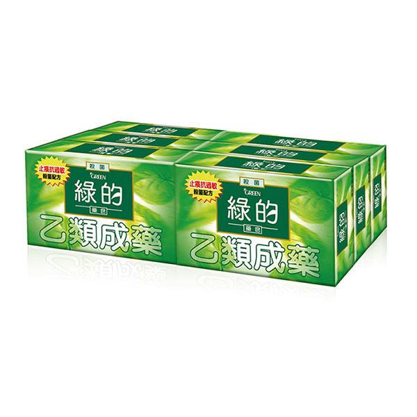 【綠的Green】綠的藥皂(80g*6入組)