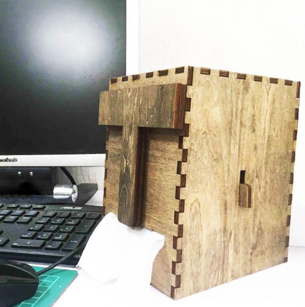 【智利】DIY 摩艾木質面紙盒 | 手作樂趣|創意小店必備 創意商品,摩艾面紙盒,面紙盒