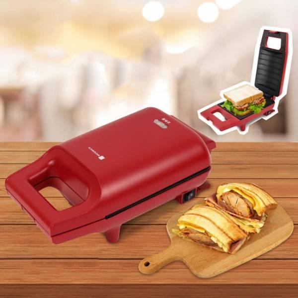 【NICONICO】古巴三明治機(NI-T801)熱壓土司機 帕尼尼機 厚燒熱壓三明治機