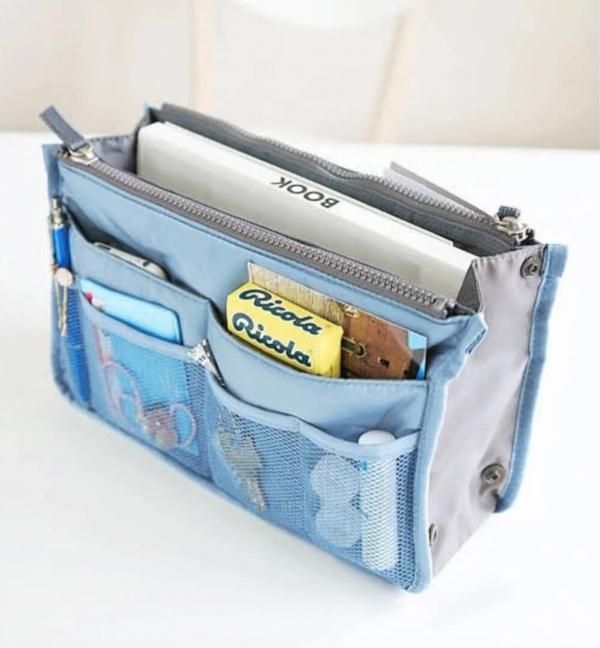 【新款韓版】手提實用懶人收納包|旅行實用收納袋 旅行收納,收納包,收納袋,袋中袋