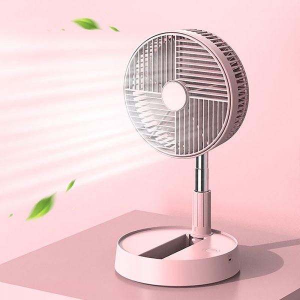 【夏日嚴選】摺疊伸縮風扇|伸縮折疊風扇 USB風扇 立扇 伸縮式風扇 摺疊風扇 風扇 電風扇 直立扇 伸縮立扇