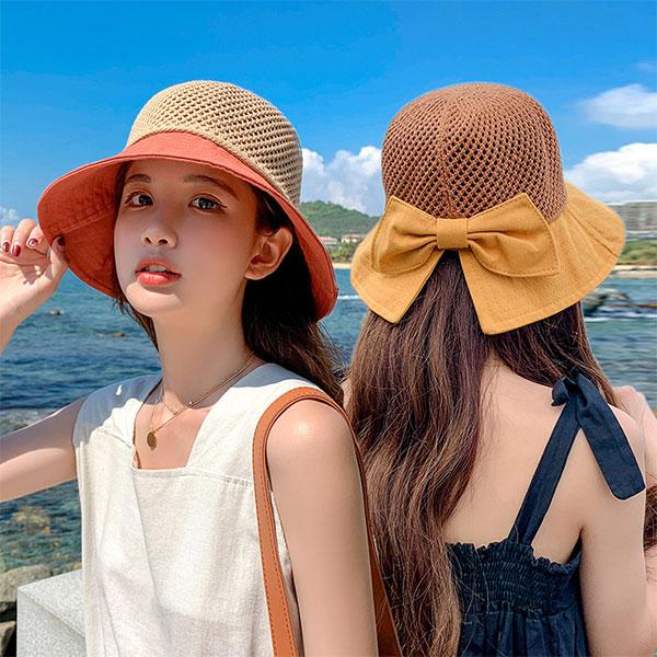 夏日UV防曬遮陽帽