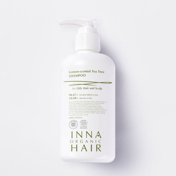 【Inna Organic 童顏有機】檸檬茶樹平衡控油洗髮精 250ml