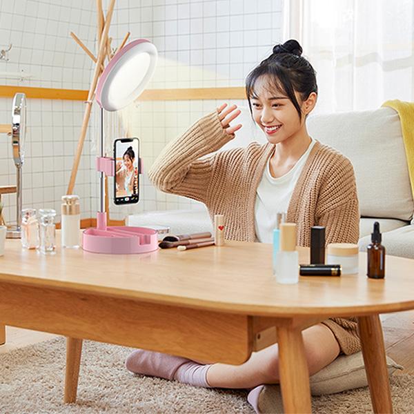 【SELFable】迷你鏡面補光燈|小圓補光燈
