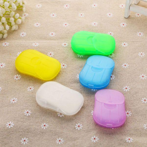 日系熱銷隨身抗菌肥皂片(一組八盒)可攜式洗手皂