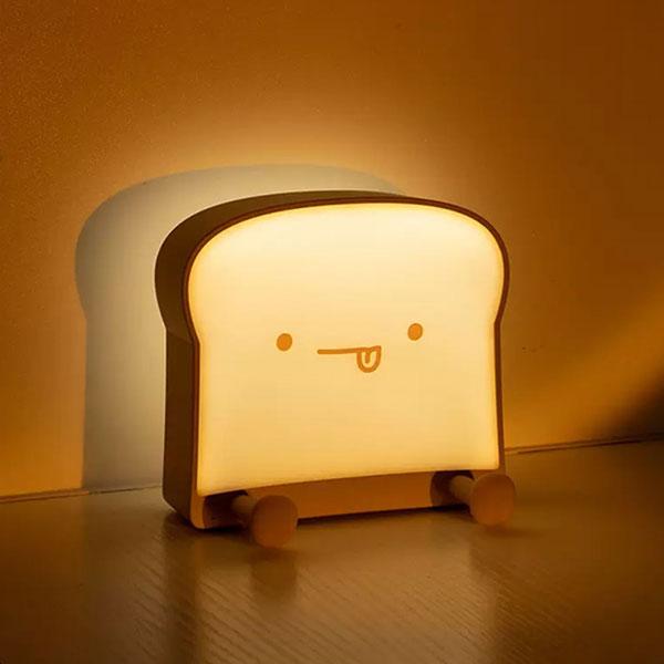 吐司麵包小夜燈