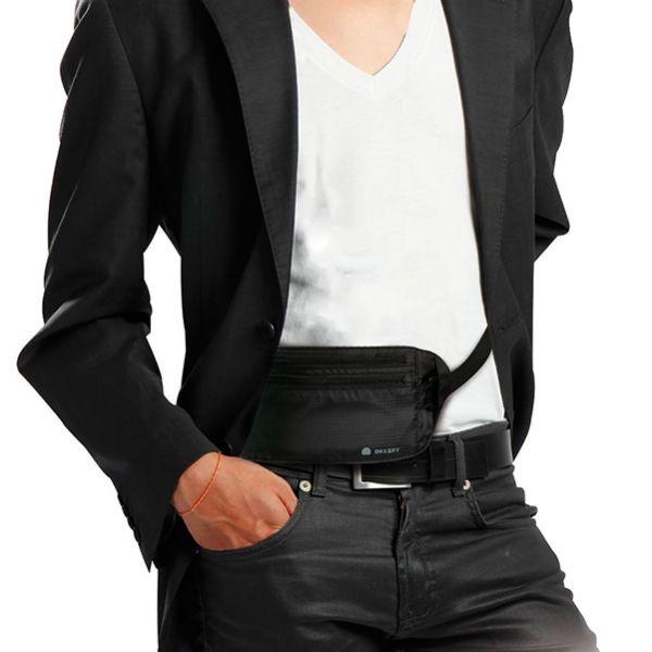 【DELSEY 法國大使】隱藏貼身腰袋Waist Bag 旅行背包  DELSEY,隱藏貼身腰袋