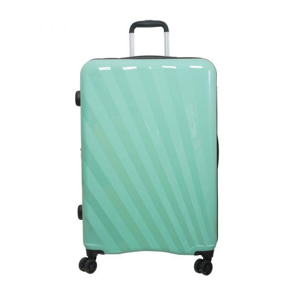 【Outdoor】28吋行李箱 SHINE拉鍊系列(綠/橘/藍)