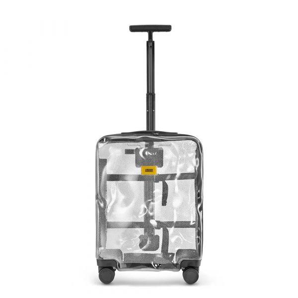 【Crash Baggage】20吋透明防撞行李箱(Share拉鍊款) 登機箱 旅行箱