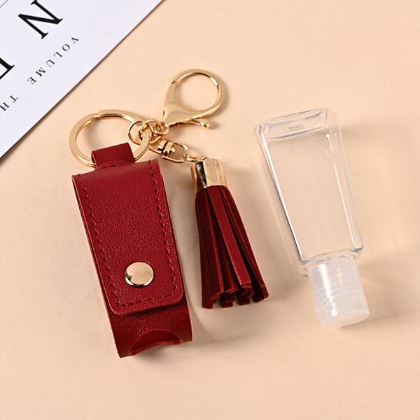 【日本熱銷】皮革清潔洗手液鑰匙圈