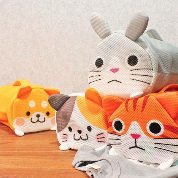 【日本SOWA】洗衣袋-可愛動物造型 洗衣袋