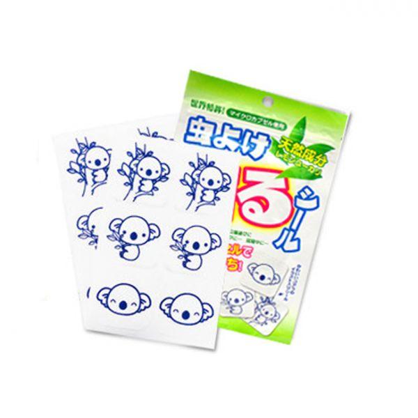 【日本鈴木】天然防蚊貼 (30入) 驅蚊貼片 兒童嬰兒孕婦可用抗蚊貼