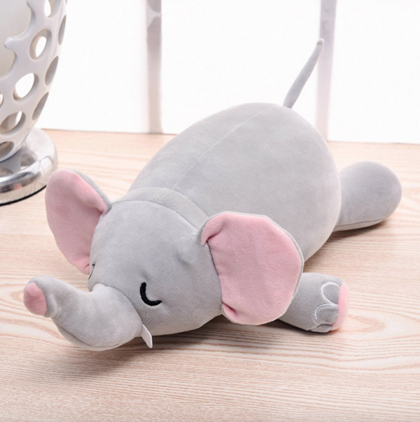【HowTravel】百變大象護頸枕|是玩偶也是枕頭 護頸枕,兒童枕,HowTravel