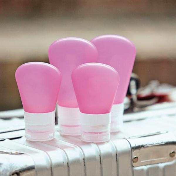 旅行分裝瓶|可帶上飛機|密閉氣壓設計|一套三件 旅行收納,分裝瓶