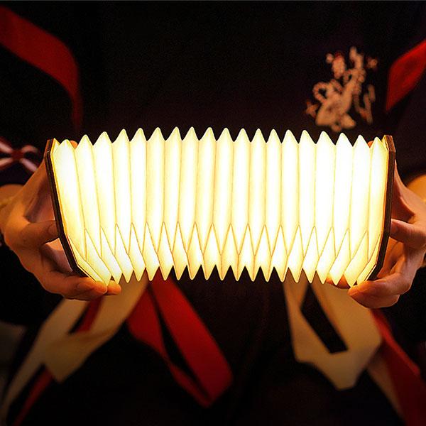 【NAGRO】木質造型桌燈 小夜燈