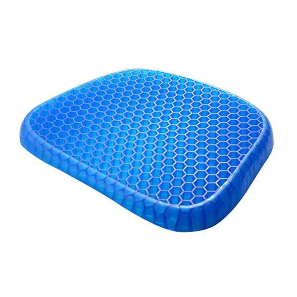涼爽透氣蜂巢冷凝膠坐墊|居家辦公久坐神器|蜂巢涼感設計