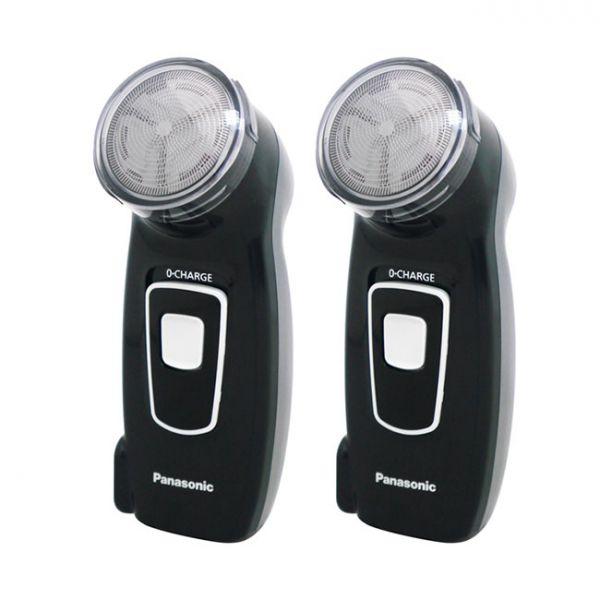 【Panasonic國際牌】旅行充電式刮鬍刀(超值二入組) ES-KS30