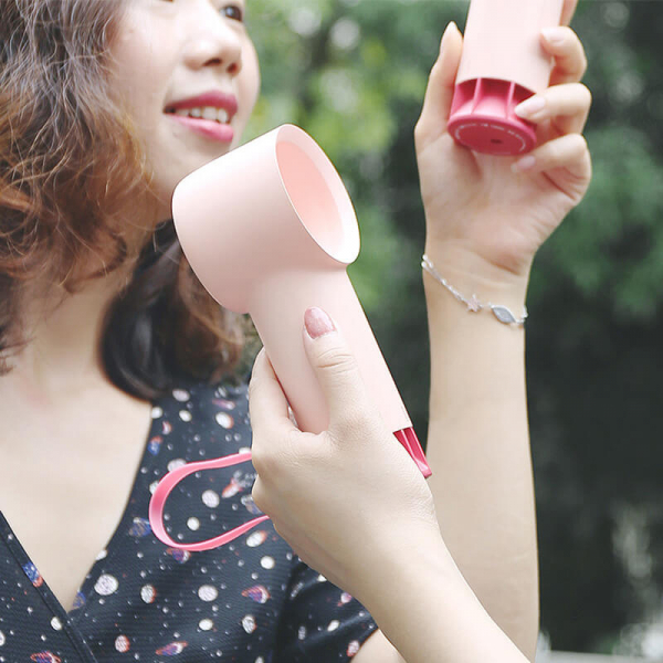 【韓國】rone 時尚mini無葉小風扇 韓國,時尚,mini,手持風扇,無葉風扇,馬卡龍色