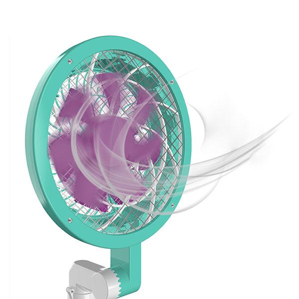 【超級捕快】吸入式電蚊拍/捕蚊燈(雙機合一)