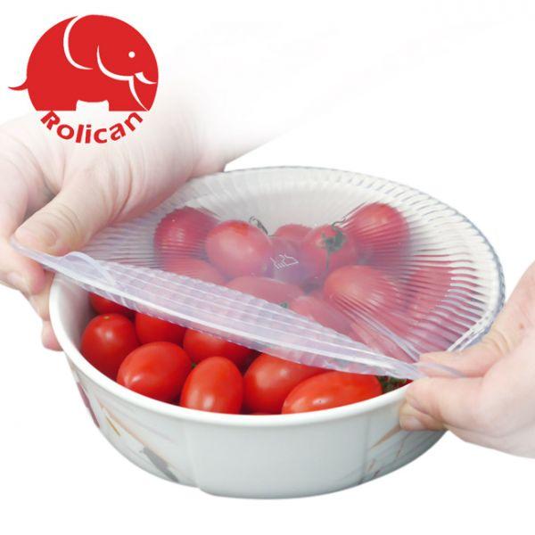【Rolicon樂立康】食品級矽膠保鮮蓋六件組