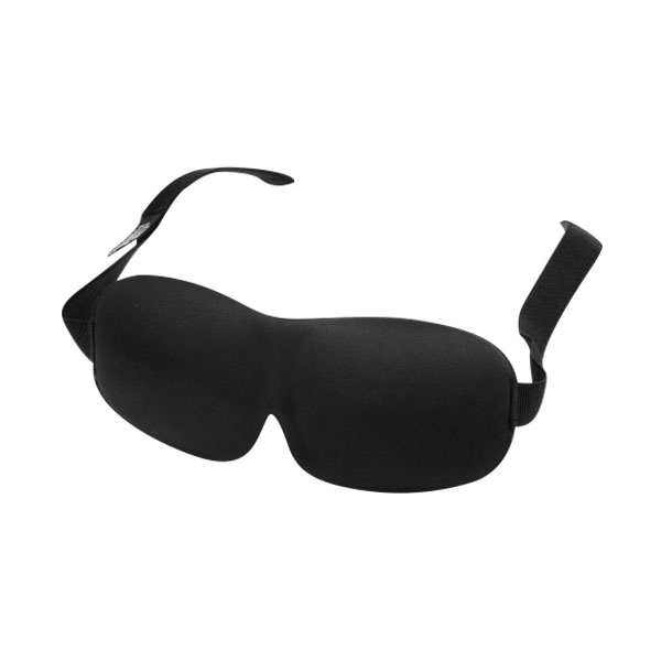 3D立體遮光睡眠眼罩 (黑/藍)