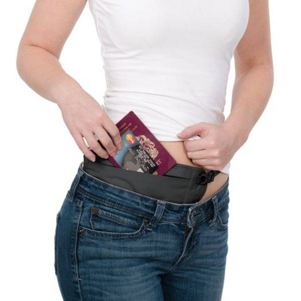 【Pacsafe】安全貼身防盜腰包腰掛暗袋