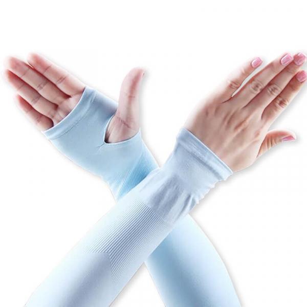 【韓國熱銷】夏日涼感防曬袖套 防曬袖套,袖套,涼感袖套