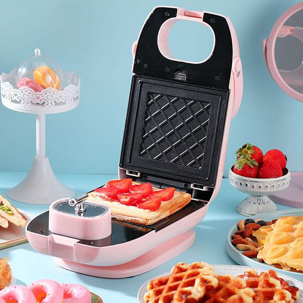 【PERSHOW品夏】熱壓三明治機|帕尼尼機 熱壓吐司機 鬆餅機