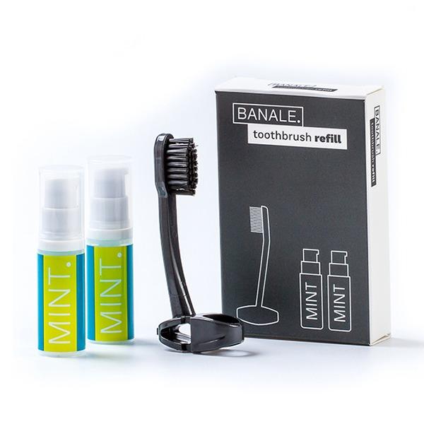 【BANALE】牙刷&牙膏 補充包 牙刷,牙膏,BANALE