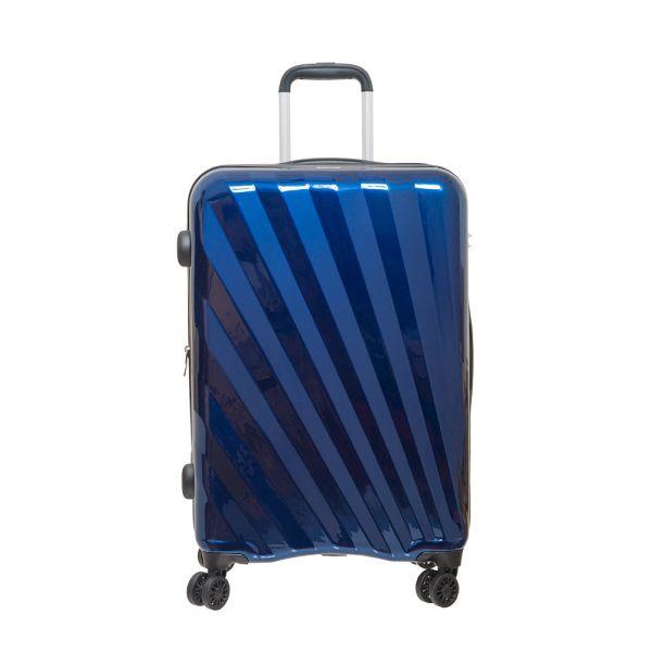 【Outdoor】24吋行李箱 SHINE拉鍊箱系列(綠/橘/藍)