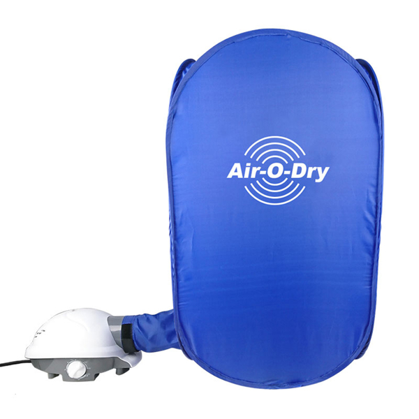 【熱銷歐美】小藍摺疊烘衣機|快速烘乾機|迷你乾衣機(安全斷電/高溫殺菌/精準定時/方便收納)