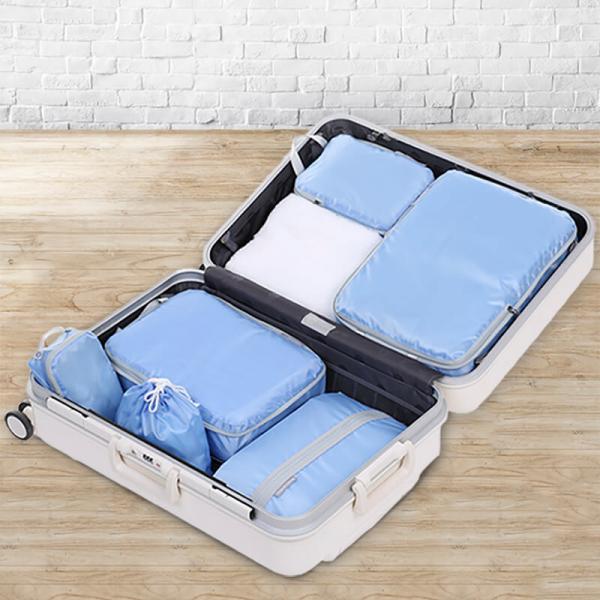 『HOW強』衣服收納壓縮袋六件組 旅行收納,衣服收納,HOW強