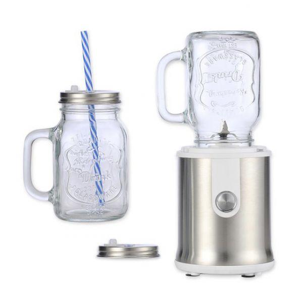 【Kolin歌林】隨鮮瓶玻璃杯果汁機-雙杯組 (JE-LNP16)