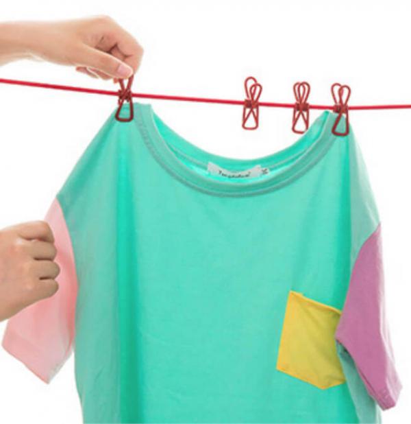 旅行居家創意曬衣繩 曬衣夾,晾衣繩,曬衣繩,堅固,耐用,旅遊,居家